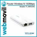 Router Wireless N 150Mbps 3G con Batería