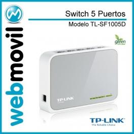 Switch 5 Puertos 10/100