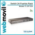 Switch 24 Puertos 10/100 Raqueable