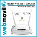 Router Wireless N 300Mbps  Multi-Función