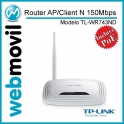 Router AP/Client Wireless N 150Mbps
