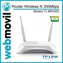 Router Wireless 3G TL-MR3420