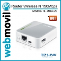 Router Wireless 3G TL-MR3020