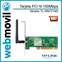 Tarjeta PCI TL-WN751ND