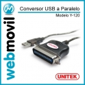 Cable USB a Paralelo Y-120