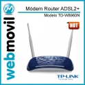 Módem Router Wireless TD-W8960N