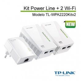 Powerline TL-WPA2220KIT 2 Wi-Fi