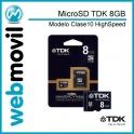 Memoria MicroSD TDK