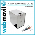 Rollo Cable de Red 305 metros