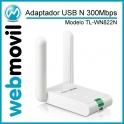 Adaptador USB N 300Mbps