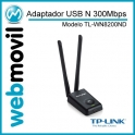 Adaptador USB N 300Mbps High Power